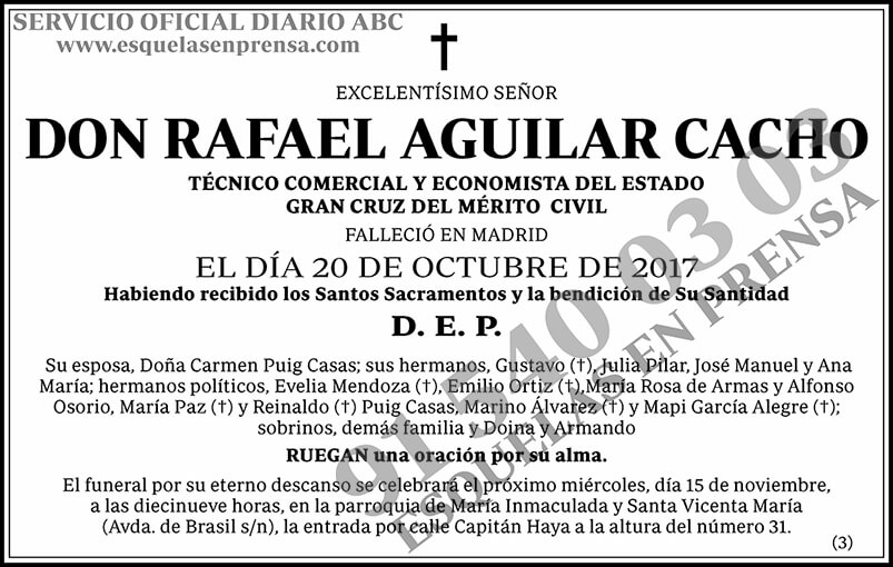 Rafael Aguilar Cacho